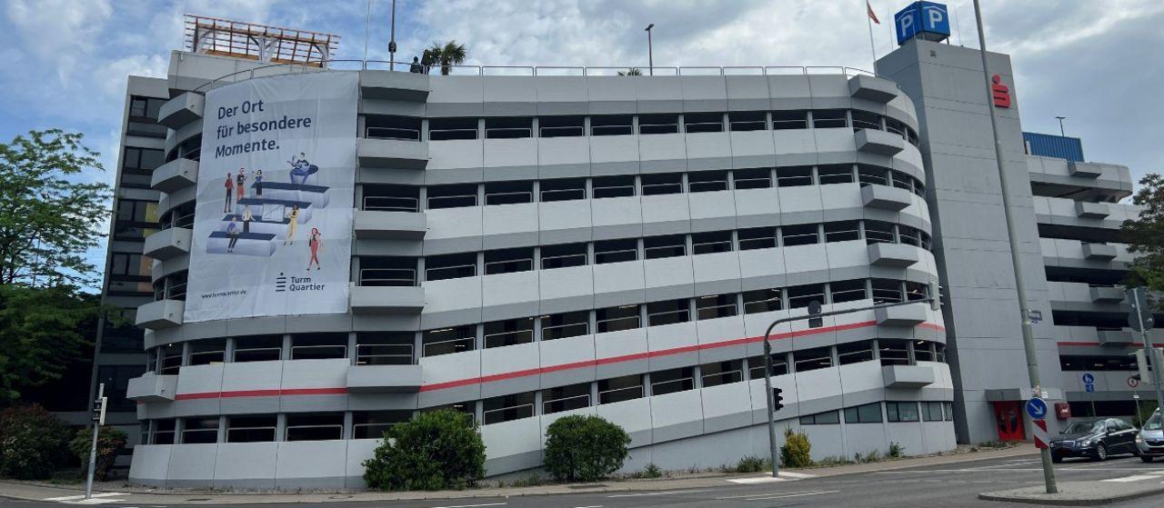Das Sparkassen Parkhaus Sparkasse Pforzheim Calw